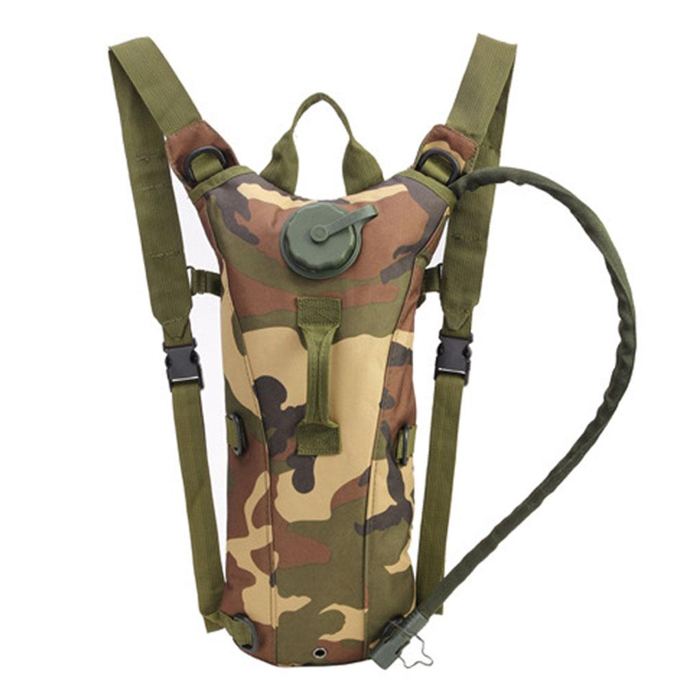 3L Water Bladder Bag Military Backpack Pack Camping Hiking Outdoor Sports Supply