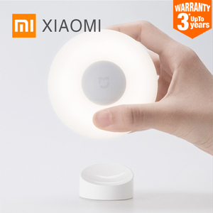 Image 1 - Hot XIAOMI MIJIA Night Light LED mini Infrared Motion sensor lamp children corridor Toilet Induction Wall light Indoor luminaire