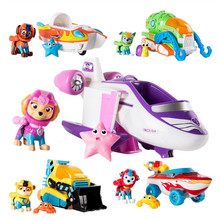 Paw Patrol toys Set Puppy Patrol Marshall Rescue Car Animated Character Marine Rescue Action Figure Paw Patrol  Birthday gift patrol management system guard tour patrol system event record guard patrol pad