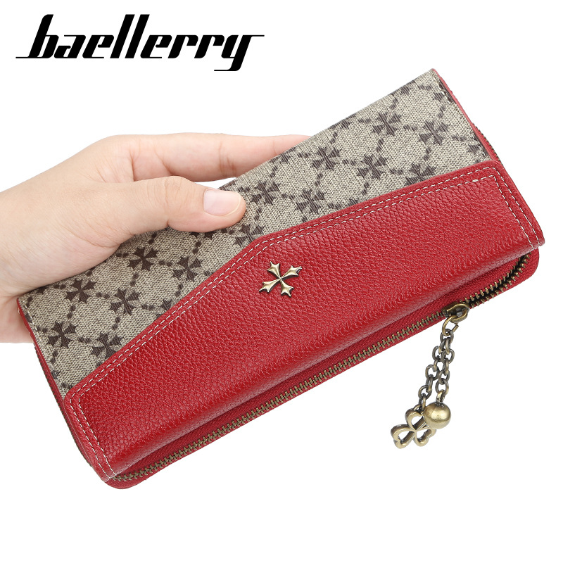 2019 Fashion Long Women Wallets Sequined Top Quality PU Female Wallets Card Holder Female Purse Zipper Brand Wallet For Girl