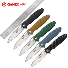 Ganzo Firebird NEW FH71 Folding Pocket Knife with D2 Blade G10 CarbonFiber Handle Outdoor Survival Tactical Utility Hunting Tool