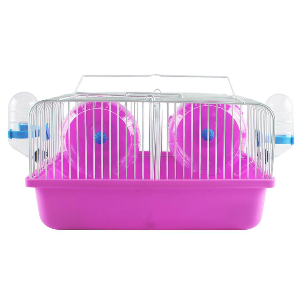 Adeeing 27*20*15CM Eco-friendly Hamster Cage Date Box For Small Hamster Guinea Pigs