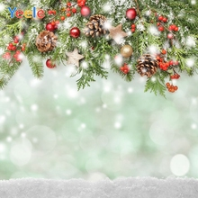 Yeele Christmas Backdrop Winter Tree Snow Newborn Baby Portrait Photography Background For Photo Studio Photocall Photophone
