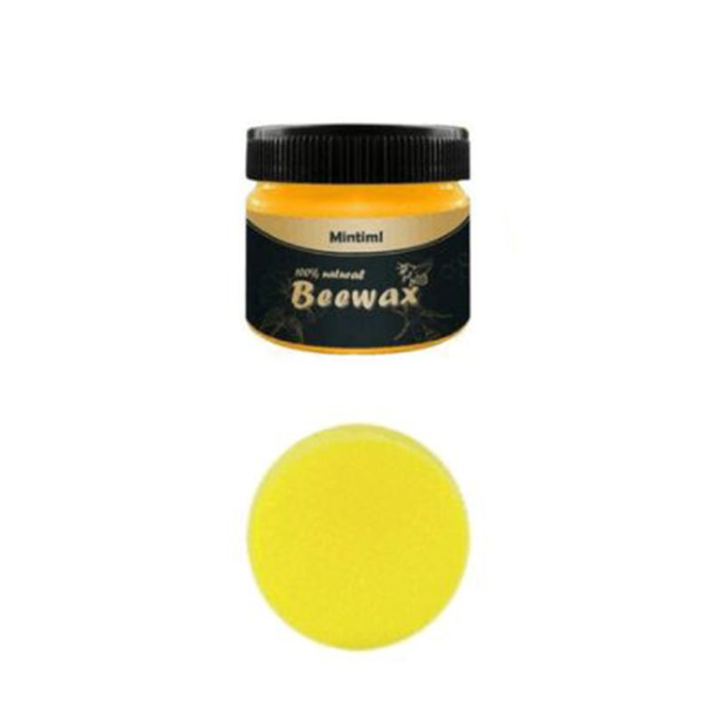 Wood Seasoning Beewax Furniture Care Polished Waterproof And Wear-resistant Wax Home Cleaning Natural Pure Wax