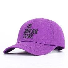 New Adult Men and Women Baseball Cap Soft Top Cotton Black White Purple