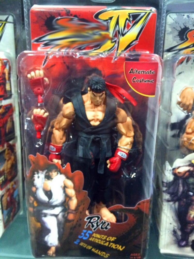 Street Fighter IV Action Figures 18cm 3