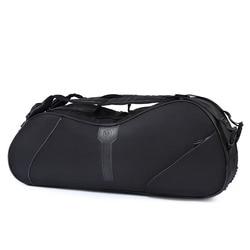 Double-deck Head Racquet Tennis Bag 6 Pcs Badminton Original Brand Racquets Bags Sports Training Backpack With Shoe Bag