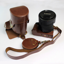 PU Leather Case for Canon EOS RP R-P camera bag Cover protec