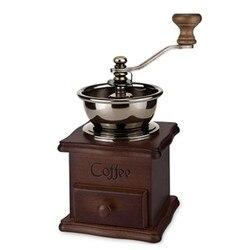 Retro buk młynek do kawy gospodarstwa domowego młynek do kawy ręczny młynek do kawy ręczny ekspres do kawy
