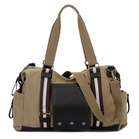Man Travel Messenger Bag Canvas Handbag Women Bolsas Femininas Leisure Shoulder Bags Duffle Tote Crossbody Bags Overnight Bag