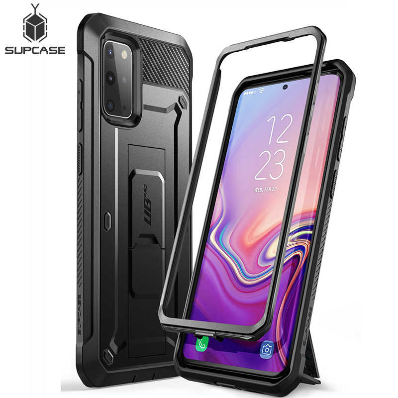 SUPCASE For Samsung Galaxy S20 Plus Case / S20 Plus 5G Case UB Pro Full-Body Holster Cover WITHOUT Built-in Screen Protector