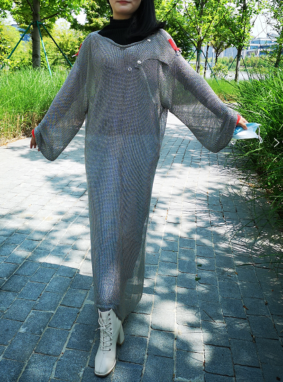 New Style Light Height Cut Resistance Butcher Chainmail Shirts Tunic Factory Meat Processing Suit Of Chainmail Protective Suits