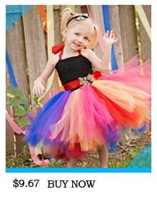 H33b789df8fbd4ff080f479bf641b0c4dR Kids Maleficent Evil Queen Girls Halloween Fancy Tutu Dress Costume Children Christening Dress Up Black Gown Villain Clothes