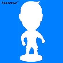 """Soccerwe 2,5"""" Кукла мультфильм шарнир коллекции фигурок игрушка подарок Рождество"""