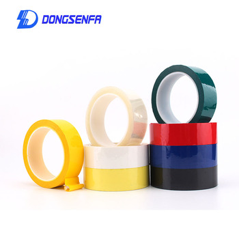 1Roll/66M High-Temp Insulation Adhesive Mylar Tape For Transformer, Motor, Capacitor, Coil Wrap Mara Tape image