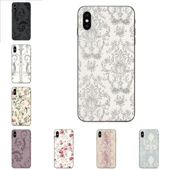 Soft Silicone TPU Black Phone Case Laura Ashley Josette For Apple iPhone 4 4S 5 5S SE 6 6S 7 8 Plus X XS Max XR image