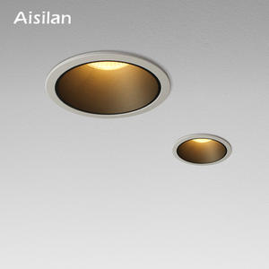 Aisilan LED Downlight background Spot Light high quality Aluminum Ceiling spot Light CREE Chip CRI 93 Recessed light