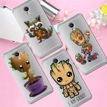 Groot luxury For Meizu M3S M5 M5S M5C M6 M3 Note U10 U20 phone Case Cover Coque Etui capa Funda shell capinha marvel cute
