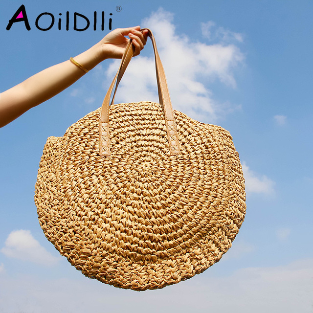 Handmade Woven Shoulder Bag  2