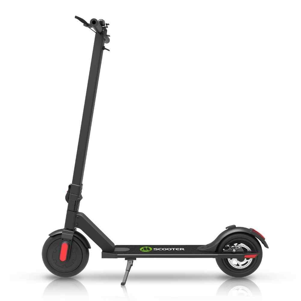 250W Scooter Eléctrico para adultos, bicicleta inteligente plegable, tabla larga eléctrica, flotador, monopatín eléctrico, bicicleta de 2 modos de velocidad, 8,5 pulgadas, 120kg