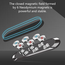 Magnetic Car Phone Holder Dashboard Mini Strip Shape Stand For iPhone Samsung Xiaomi Wall Metal Magnet GPS Car Mount Universal