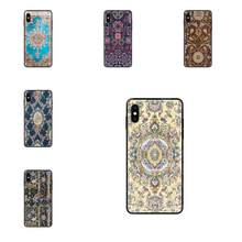 2019 Persian Carpet Floral Pattern Skin Thin For Redmi 3S 4X 4A 5 5A 6 6A 7 7A 8 8A 8T 9 9A K20 K30 S2 Y2 Pro Plus Ultra(China)