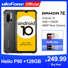 Ulefone Armor 7E Kasar Ponsel Helio P90 + 128G Smartphone 2.4G/5G WiFi Tahan Air IP68 global Versi Android 10 NFC/48MP(China)