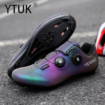 Ytuk profissional atlético sapatos de bicicleta mtb sapatos de ciclismo homem auto-bloqueio sapatos de bicicleta de estrada 1
