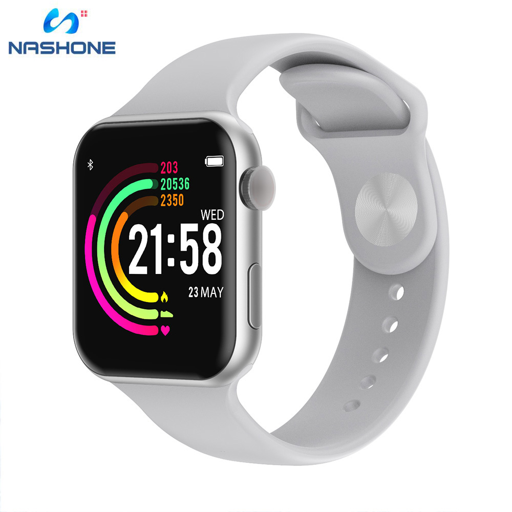 2019 New F10 Sport Smartwatch 200mAH 1.54 Full Screen Weather Bluetooth Smart Watch for Android iPhone xiaomi phone PK iwo 8 4