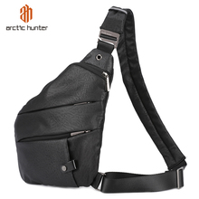 ARCTIC HUNTER Brand Male Messenger Bag Shoulder Bags Men Hidden Chest Pack Mens Retro Crossbody Bag Cool Motorcycle Sling Bag
