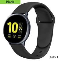 20mm/22mm Huawei Uhr GT 2/2e/pro Strap für Samsung Getriebe S3/S2/correa Silikon Armband Galaxy Uhr 3/46mm/42mm/Aktive 2 Band