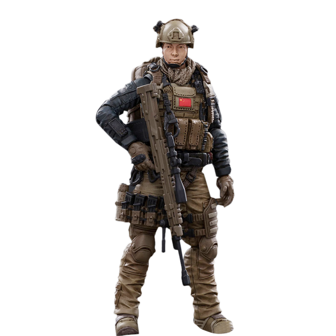 3.75 Inches 1:18 Realistic Removable Action Figure Soldier Model Collection - PLA Marine Corps Soldier 3 Type Gift For Boys