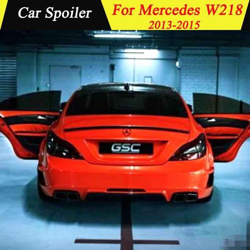 Para Mercedes Benz W218 2011 2012 2013 alerón trasero fibra de carbono negro alerón trasero de decoración de coche para CLS300 CLS350 CLS63 Transmisión conector 13-Pin adaptador macho de 722,6 para Mercedes-Benz W219 CLS320 CLS280 CLS350 CLS300 CLS500 CLS550 A2035400253