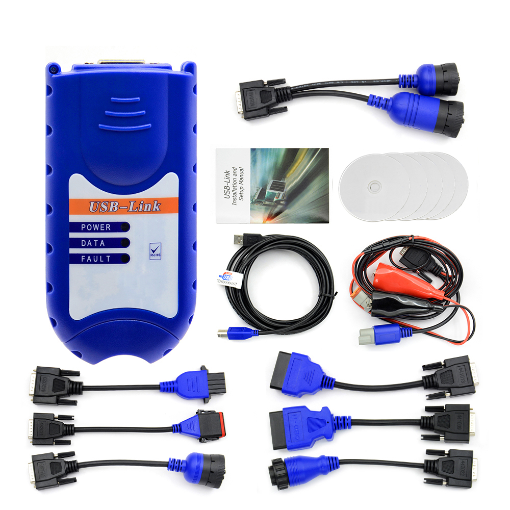 Komatsu Cable Use for XTruck USB Link with Software Diesel Truck Diagnose