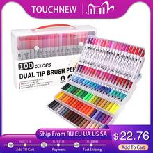 Marker-Pens Brush Drawing-Marker Watercolor Dual-Tip TOUCHNEW