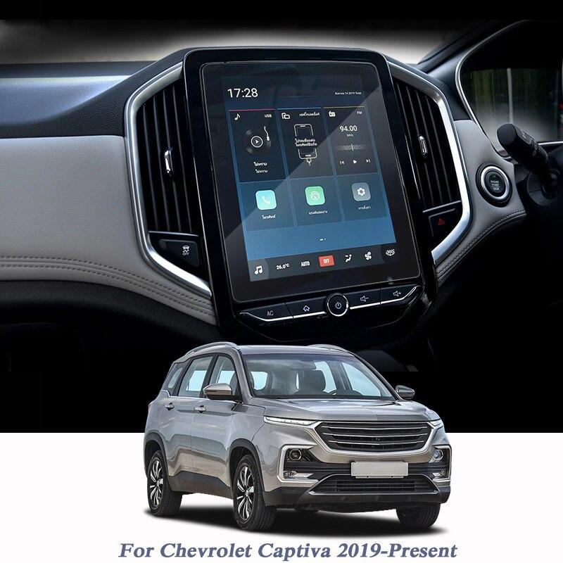 Pour Chevrolet Captiva 2019-présent GPS Navigation écran verre Film de protection affichage Film de protection accessoire interne