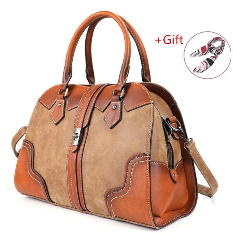 2019 Hot Sale Fashion Ladies Handbag Genuine Leather Women's Large Capacity Shoulder Bag For Women Crossbody Messenger Bags RU