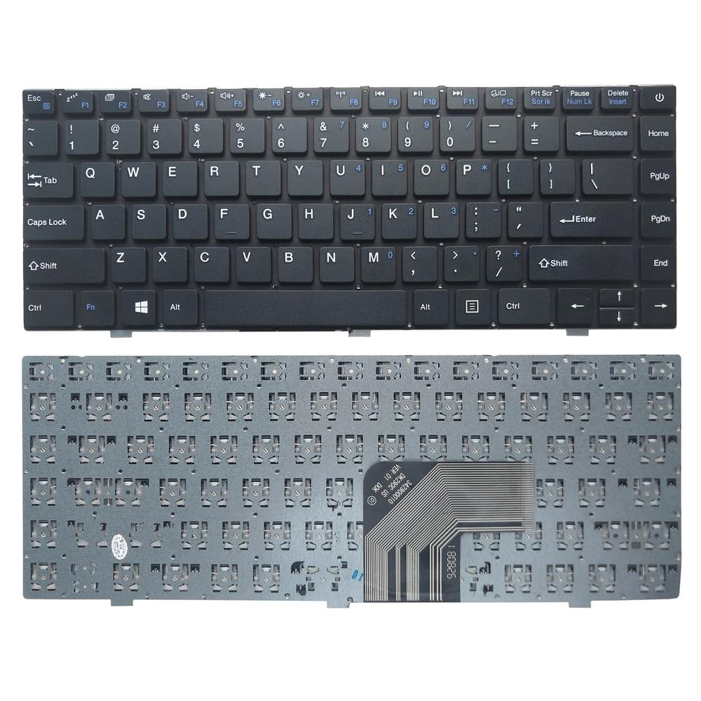 Laptop Keyboard For Prestigio For Smartbook 133S Russia RU English US New