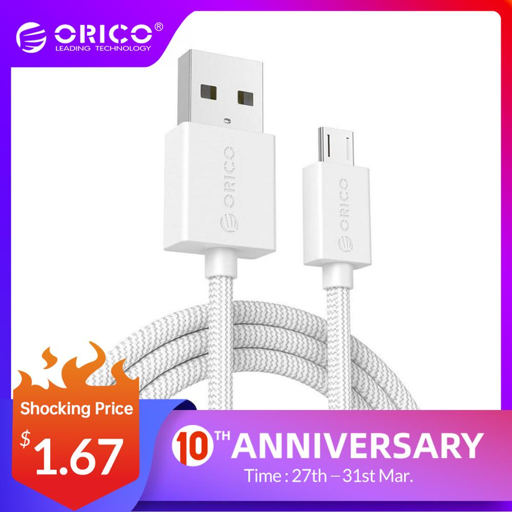 ORICO Micro USB Cable 2A Data Charging Phone Cable for Samsung HTC Nokia SONY Xiaomi Huawei 100 cm|cable for|micro usb cable 2a|cable 2a - AliExpress