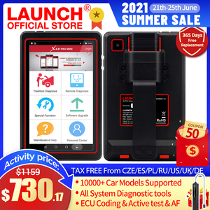 Image 1 - LAUNCH X431 PRO MINI Diagnostic Scanner Automotive Full System Scan tool Bluetooth Wifi OBD OBD2 Code Reader For Cars PK X431 V
