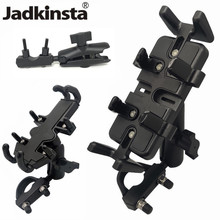 Jadkinsta aluminium moto socle support de guidon Double prise bras adaptateur pour ram supports pour gopro caméra Garmin
