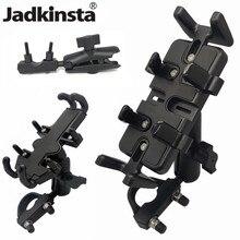 Jadkinsta 알루미늄 오토바이베이스 마운트 핸들 바 홀더 gopro 카메라 Garmin 용 램 마운트 용 더블 소켓 암 어댑터