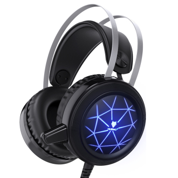 Gaming Headphone with Mic USB Professional Gaming Stereo Sound Headset with LED Noise Cancellation for PC Laptop 1