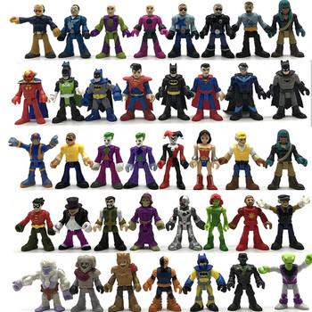 AOSST DC Superman Batman Joker Superman Action Figures Superhero Figures Collection Toys For Kids Toys Gift batman the joker action figures 1 12 with real clothing mezco movable model toy