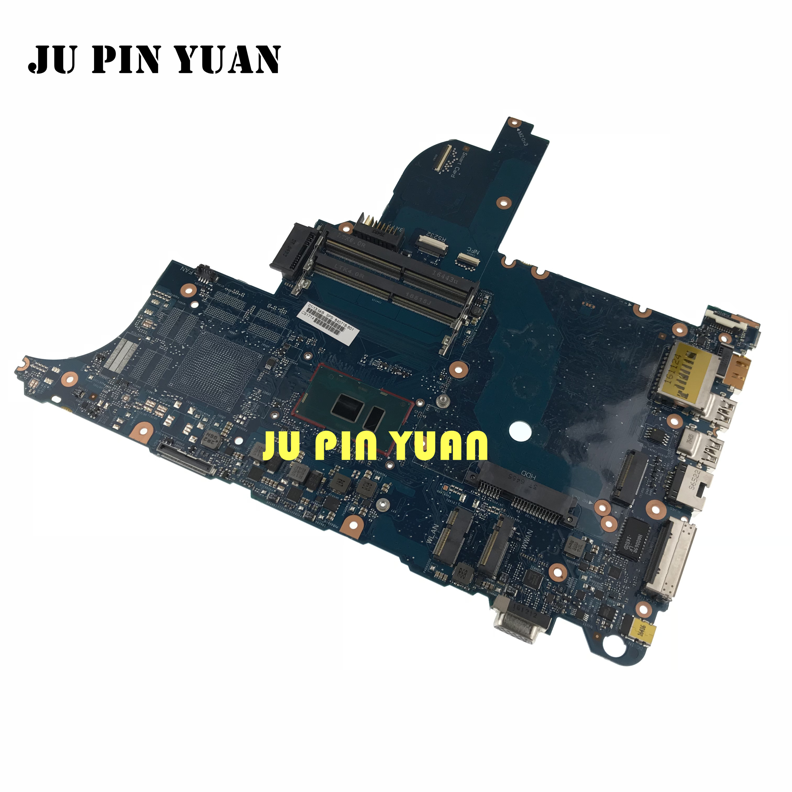 840716-601 840716-001 For HP Elitebook 640 <font><b>650</b></font> G2 Laptop motherboard <font><b>I5</b></font>-6200U 6050A2723701-MB-A02 100% fully Tested image