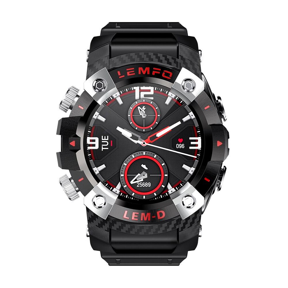 H33bbd70d066f4cb89219653109d34f5dB LEMFO LEMD Smart Watch Wireless Bluetooth 5.0 Earphone 2 In 1