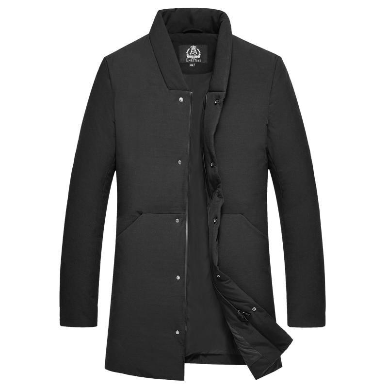 Coat Winter Men 90% White Duck Down Jacket Korean Fashion Plus Size Puffer Jacket Men Warm Parka Casaco Y58 YY1355