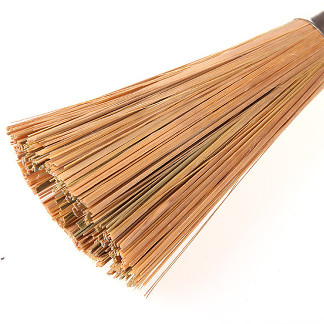 Non-stick oil bamboo wok brush kitchen pot strong polishing Rust Remover scrubber dust broom cleaner Household Cleaning Tools 3