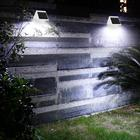 4LED Fence Lamp Sola...