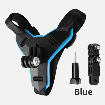 Motorcycle Helmet Chin Stand Mount Holder for GoPro Hero 8 7 6 5 4 3 Xiaomi Yi Action Sports Camera Full Face Holder Accessory 7
